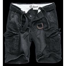 Brandit Shell Valley Heavy Vintage rövidnadrág, fekete