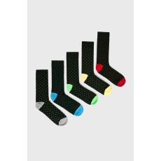 Brave Soul - Zokni (5 darab) - többszínű - 1441009-többszínű