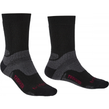 Bridgedale Hike MW MP Boot Zoknie: 40-43 / fekete férfi zokni