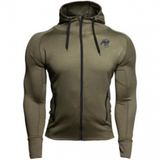 BRIDGEPORT ZIPPED HOODIE - ARMY GREEN (ARMY GREEN) [M]