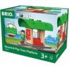 BRIO Record & Play vonat állomás Brio