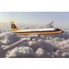 Bristol 175 Britannia Monarch Airlines repülő makett Roden 323