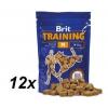 Brit Training Snack jutalomfalat M 12x100g