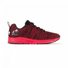 BROOKLYN KNITTED SNEAKERS - RED/BLACK (RED/BLACK) [45]