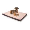 Brunolie Balu, kutyafekhely, párna kutya részére, mosható, ortopéd, csúszásgátló, légáteresztő memóriahab, XXL méret (140 x 10 x 100 cm)