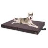 Brunolie Paco, kutyafekhely, párna kutya részére, mosható, ortopéd, csúszásgátló, légáteresztő, összecsukható memóriahab, XL méret (120 x 10 x 85 cm)