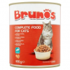 Brunos teljes értékű állateledel felnőtt macskák számára falatok hallal szószban 830 g