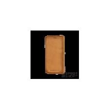 BUGATTI Parigi Apple iPhone X valódi bőr flip tok kártyatartóval, homok tok és táska