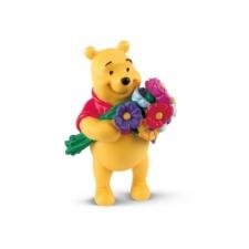Bullyland Micimackó virágokkal játékfigura játékfigura