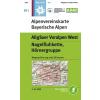BY01: Allgäuer Voralpen West turistatérkép - Alpenvereinskarte