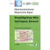 BY15: Mangfallgebirge Mitte turistatérkép - Alpenvereinskarte