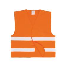 C474 - Jól láthatósági két csíkos mellény - narancs