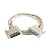 Cable ROLINE PC modem 25F/M 4.5m