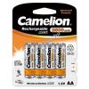 Camelion akku típus LR6 (ceruzaakku típus) 2500mAh 4db/csom.
