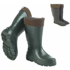 Camminare Angler EVA habosított műanyag csizma, kivehető, mosható bélés, -30°C, csúszásmentes talp, zöld, 45 munkavédelmi cipő