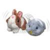 Camon plüss, reszkető macskajáték vegyes figurák (A319)