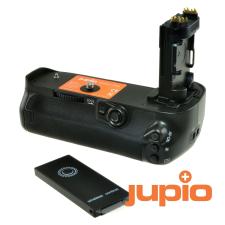 Canon BG-E20 utángyártott portrémarkolat és távkioldó a Jupiotól Canon 5D Mark IV fényképezőgéphe... markolat