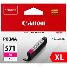 Canon CLI-571MXL Tintapatron Pixma MG5750, 6850,7750 nyomtatókhoz, CANON vörös, 11 ml (TJCBCLI571MXL) nyomtatópatron & toner