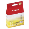 Canon CLI-8Y Tintapatron Pixma iP3500, 4200, 4300 nyomtatókhoz, CANON sárga, 13ml