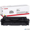 Canon CRG-055 Lézertoner i-Sensys LPB663, 664, MF742, 744, 746 nyomtatókhoz, sárga, 2,1k