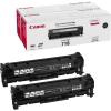 Canon CRG 718 2x3400 oldal eredeti fekete toner csomag
