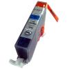 Canon nyomtatóhoz CLI-521 C cián utángyártott chipes tintapatron (kb.≈300 oldal)