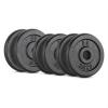 Capital Sports CAPITAL SPORTS IPB 20 kg set, súlytárcsa készlet, 4 x 2,5 kg + 2 x 5 kg, 30 mm