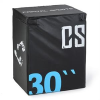 Capital Sports CAPITAL SPORTS Rooko Soft Jump Box, plyo box, 76x61x51 cm, fekete