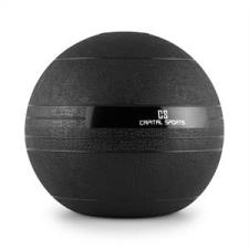 Capital Sports Groundcracker, fekete, 20 kg, slamball, gumi medicinlabda