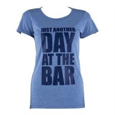 Capital Sports női edző póló, L méret, kék tricolor női póló