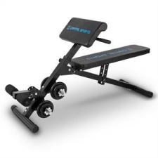 Capital Sports Sit'n Curl, Sit Up pad súlyzókészlettel edzőpad