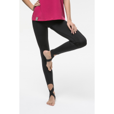 Cardio Bunny - Legging Cross - fekete