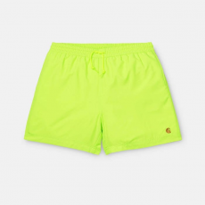 Carhartt WIP Chase Swim Trunks I026235 LIME/GOLD