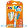 Carioca Carioca Színes bébi filctoll 6db-os szett kimosható