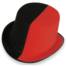 Carneval Cilinder fekete-piros - CARNEVAL 38011 jelmez