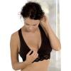 Carriwell Csipkés szoptatós melltartó XL - fekete