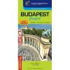 Cartographia Budapest Comfort térkép (laminált) Cartographia 1:30e.