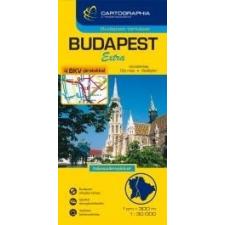 Cartographia Budapest kemény 1:30e. térkép térkép