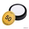Caruba objektív hátsó sapka matricával Nikon objektívekhez