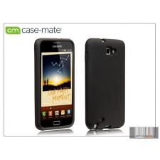 CASE-MATE Samsung i8150 Galaxy W hátlap - Case-Mate Smooth - black tok és táska