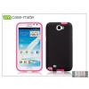 CASE-MATE Samsung N7100 Galaxy Note II hátlap - Case-Mate Tough - black/pink