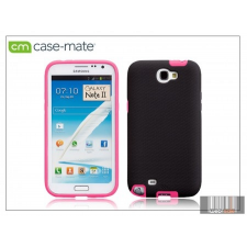 CASE-MATE Samsung N7100 Galaxy Note II hátlap - Case-Mate Tough - black/pink tok és táska