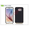CASE-MATE Samsung SM-G920 Galaxy S6 hátlap - Case-Mate Slim Tough - black/gold