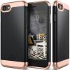 CASEOLOGY Caseology iPhone 7 (5.5'') Plus Savoy Series hátlap, tok, fekete