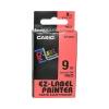 Casio 9mm x 8m szalag kék-fekete