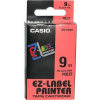 Casio Feliratozógép szalag, 18 mm x 8 m, CASIO, ezüst-fekete
