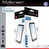Caterpillar B15 Q, Kijelzővédő fólia, ütésálló fólia, MyScreen Protector L!te, Flexi Glass, Clear, 1 db / csomag
