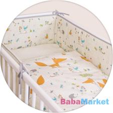 CEBA ágynemű huzat rácsvédővel 100x135 60x40cm Fox ecru babaágynemű, babapléd