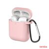 CELLECT Airpods szilikon tok, Pink, 1.5mm