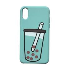 CELLECT Designe hátlap, iPhone 8, Zöld tok és táska